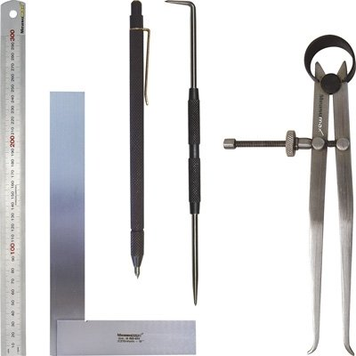 Rules, Squares, Spring & Divider Calipers,Scribers
